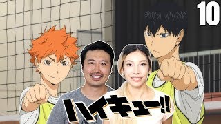 """Yearning"" HAIKYU EPISODE 10 REACTION!!"