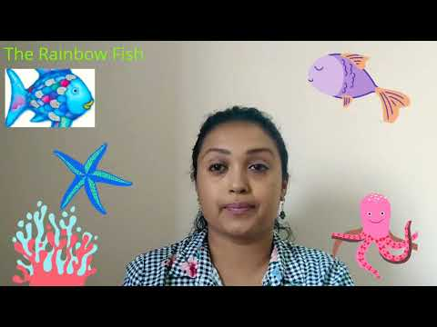 Mrs Pillai Stories#9 The Rainbow Fish 🐟