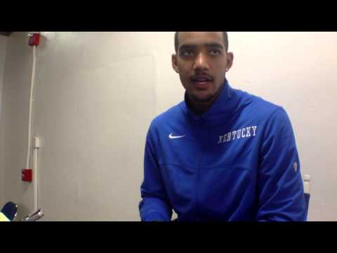 Video | Trey Lyles on UK's rout of Georgetown College