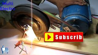 free energy generator how to make electric wheel free energy generator part 1