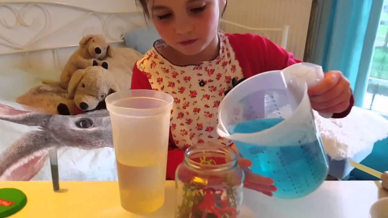 DIY  Zelf aquarium in pot maken  knutselen Nederlands