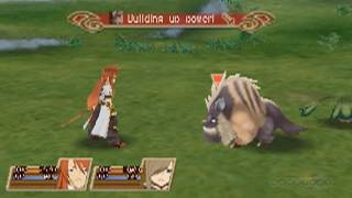 Exploring and Fighting - Tales of the Abyss Gameplay (3DS)