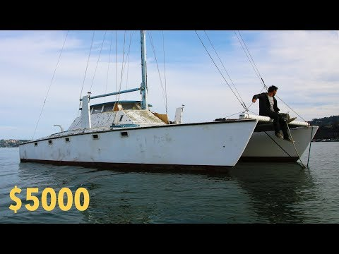 Would YOU pay $5k for this Sailboat? | Ep. 35 להורדה