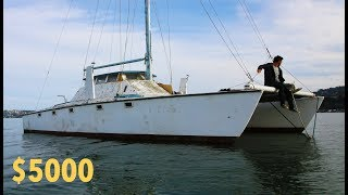 Would YOU pay k for this Sailboat?   Ep. 35