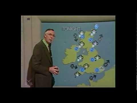 Weather With Jack Scott | BBC1 24/01/1979