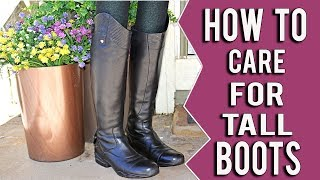 How To Take Care Of Tall Riding Boots So They Last A Long Long Time
