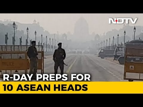 100-Foot Wide Stage, Massive Security For ASEAN Leaders At Republic Day Parade