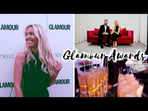 GLAMOUR WOMEN OF THE YEAR AWARDS 2017 VLOG | Scarlett London