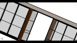 Cad Model Of Telescoping Patio Doors For The Patio On Goldfinch