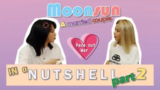 Moonsun: A Married Couple in a Nutshell part 2 I Moonbyul & Solar