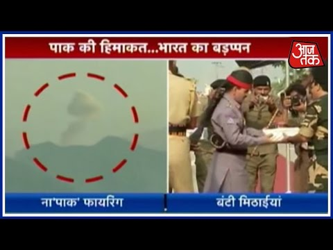 Ceasefire Violations At Punj Sector, Sweet Exchange At Wagah Border