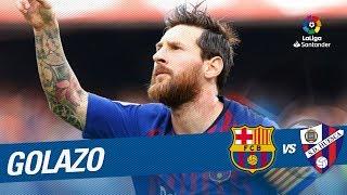 Golazo de Messi (1-1) FC Barcelona vs SD Huesca
