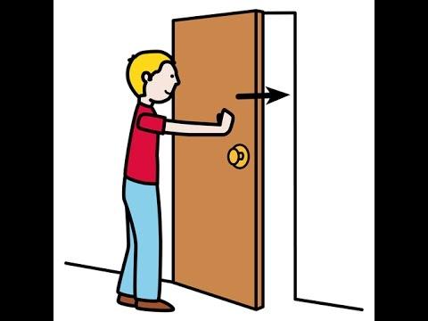 Como hacer que tu puerta se cierre sola sin necesidad de for Puertas que se cierran solas