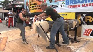 2013 Ontario Lumberjack Championship, Brechin, Ontario Part 2