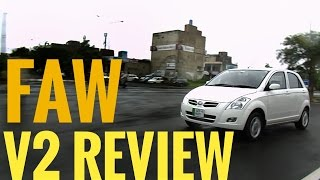 FAW V2 Hatchback 1.3L Chinese car: Review   Specs and features   Urdu