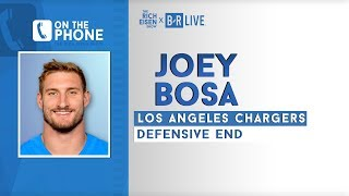 LA Chargers DE Joey Bosa Talks Aaron Rodgers, Flag Planting, OSU & More w/ Rich Eisen Full Interview
