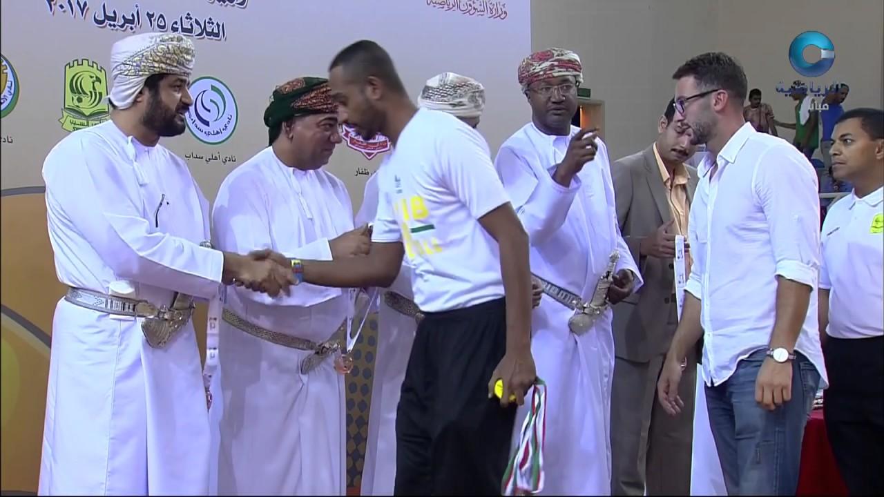 تكريم نادي السيب الحاصل على المركز الثالث في بطولة درع وزارة الشؤون الرياضية لكرة السلة2017م