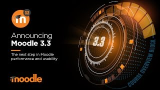 Moodle 3.3 Overview