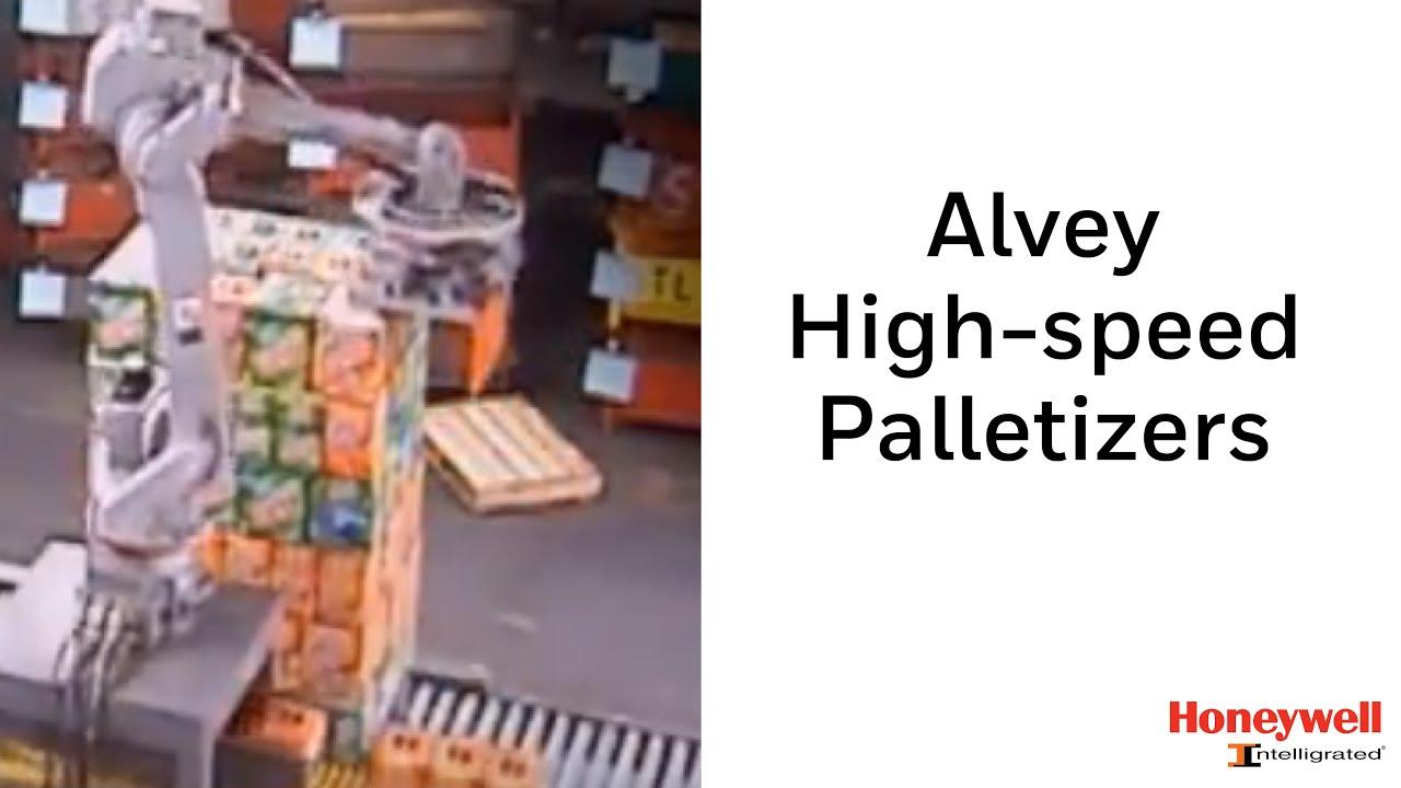 Alvey High-speed Palletizers | Honeywell Intelligrated