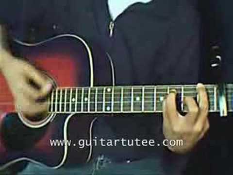 Carry You Of Jimmy Eat World By Guitartutee Youtube