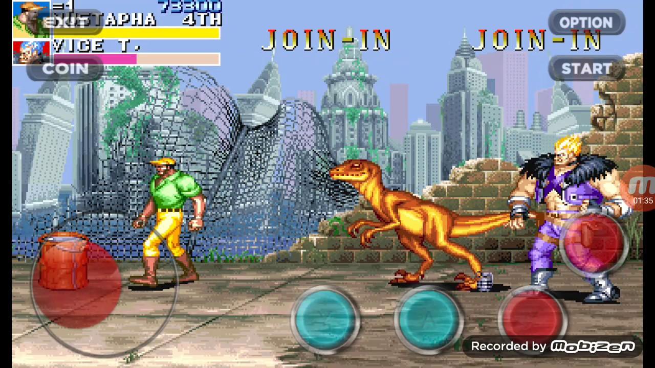 jogo cadilac dinossauro para celular android