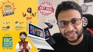 BEST LAPTOP DEALS FROM THE FLIPKART & AMAZON SALES !