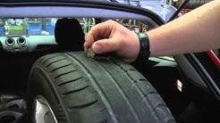 Näin tarkistat renkaittesi kunnon
