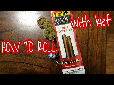How to roll game leaf red sweets by Garcia Vega