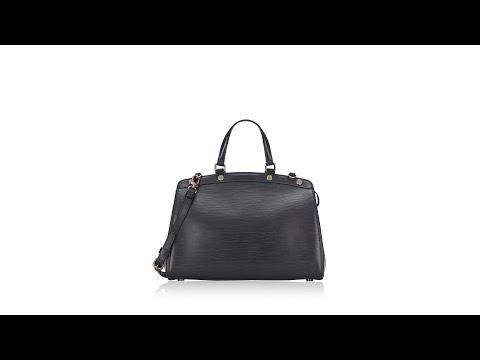 Louis Vuitton Epi Brea MM Noir