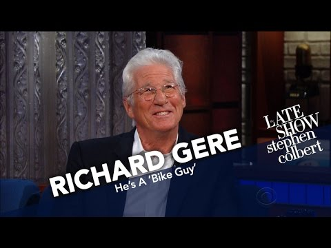 Richard Gere Says He's A 'Bike Guy' And That Stephen Is 'Not'