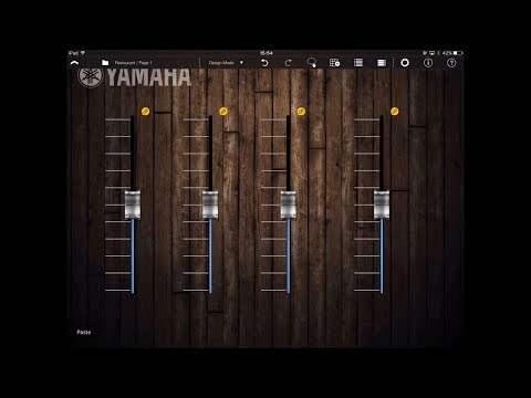 ProVisionaire Touch: How to design the user interface / Yamaha MTX/MRX