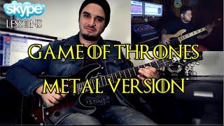 Game of Thrones Theme Metal Version by Cacá Barros (feat. Rafa Tuzu)