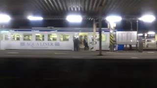 JR九州 415系快速 鹿児島本線 香椎→福工大前 モハ414-124 3226M