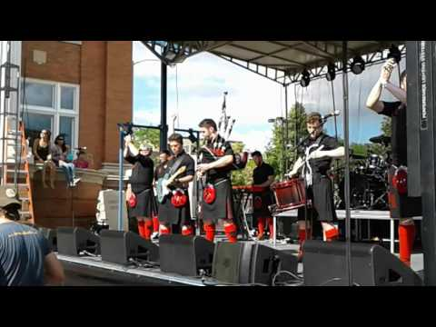 Red Hot Chili Pipers 8/13/16 Fond du Lac WI