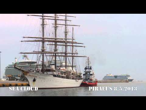 SEA CLOUD arrival at Piraeus Port