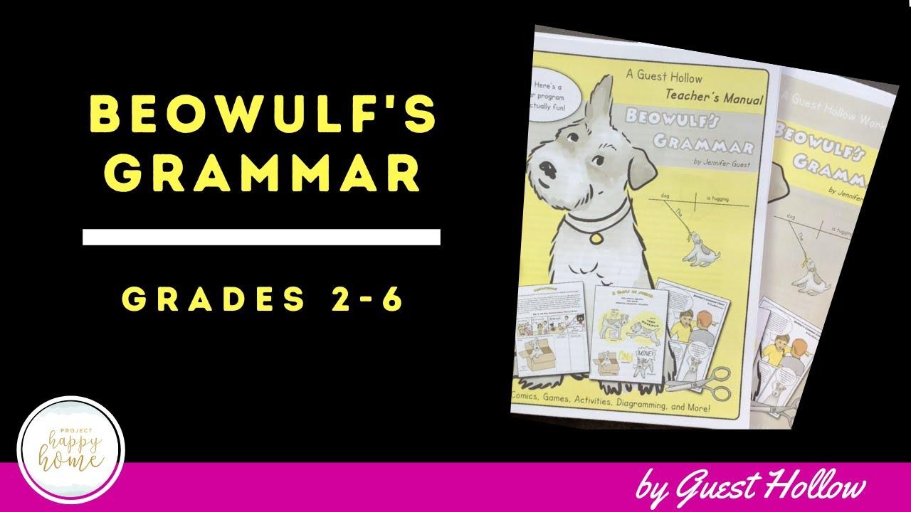 Download SECULAR HOMESCHOOL GRAMMAR CURRICULUM || BEOWULF'S GRAMMAR by Guest Hollow