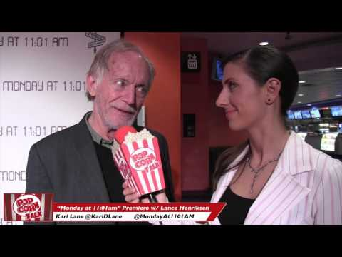 "Lance Henriksen Interview at the premiere of ""Monday at 11:01 A.M."""