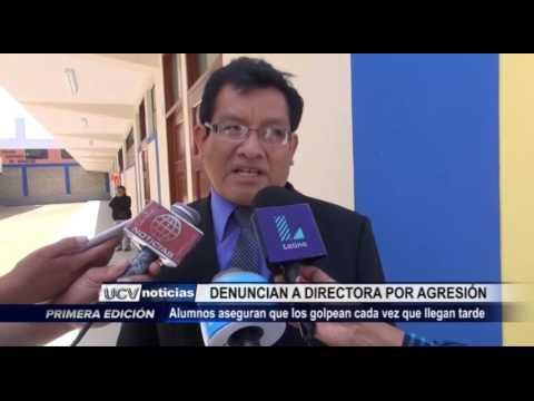 Trujillo: Denuncian a directora de colegio por agresión