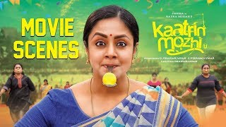 Kaatrin Mozhi - Movie Scenes Compilation | Jyothika | Vidharth | Lakshmi Manchu