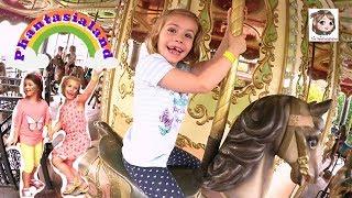 2 MÄDELS IM PHANTASIALAND ★ Hannah & Ava machen den Freizeitpark unsicher | Spezial