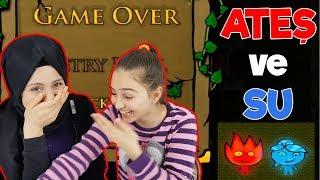 Ateş ve Su Oyunu | İSTEK VİDEO | Ablamla Ateş ve Su Oynadık , gülmekten bayılacaktık !