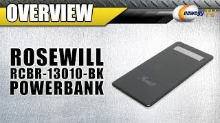 Rosewill Powerbank 5000/112000/13000mAh External Backup Battery Charger Overview - Newegg TV