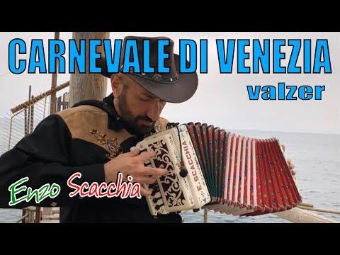 CARNEVALE DI VENEZIA (super virtuoso) ENZO SCACCHIA CAMPIONE DEL MONDO DI ORGANETTO