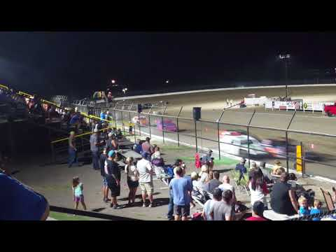 Econo Mods Heat #1 Grayson County Speedway 9-1-18