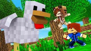 Minecraft Daycare -  TINA VS MUTANT CHICKEN !? (Minecraft Roleplay)