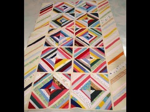 Como hacer un acolchado con patchwork youtube - Acolchados en patchwork ...