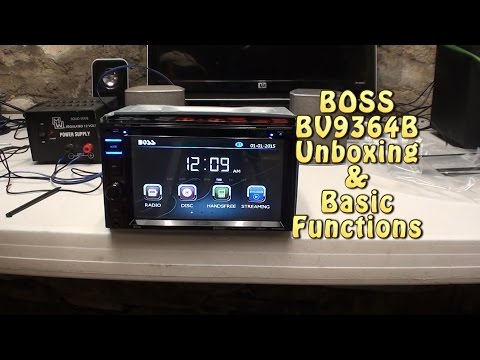 BOSS AUDIO BV9364B Unboxing & Basic Function Test.
