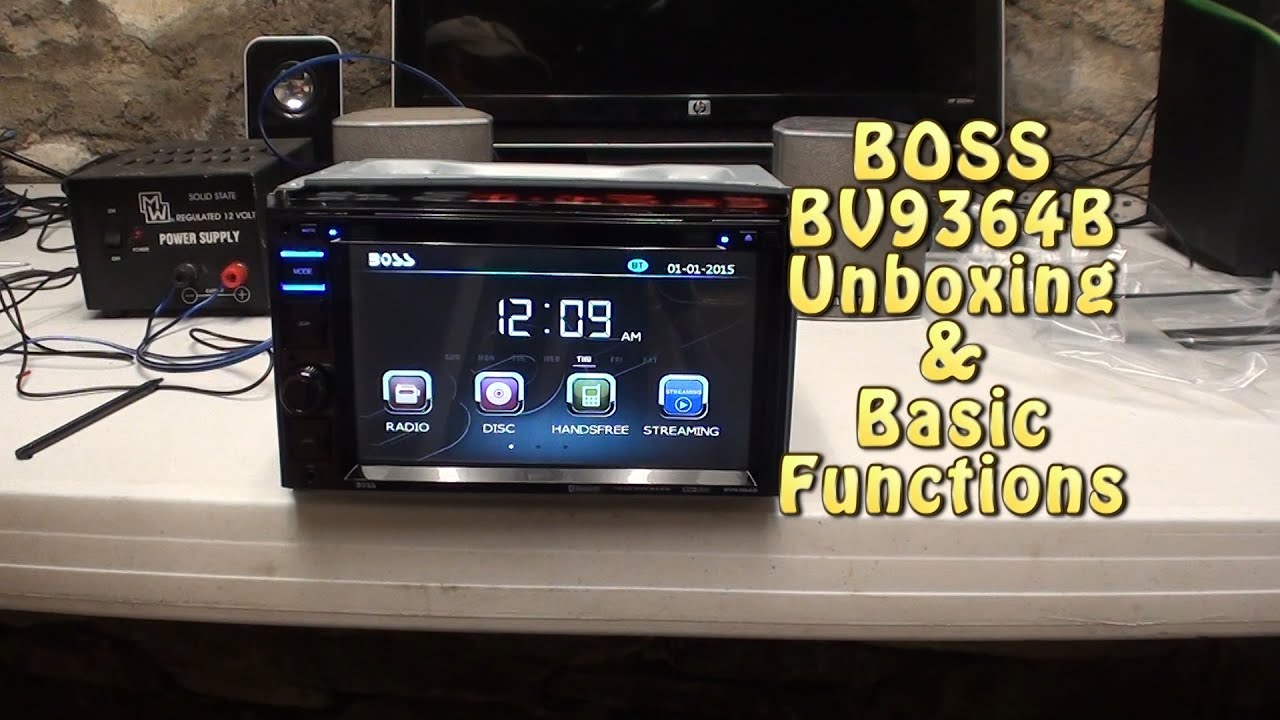 maxresdefault boss audio bv9364b unboxing & basic function test youtube  at virtualis.co