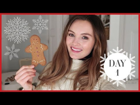 BAKING VEGAN GINGERBREAD MEN | Vlogmas #1