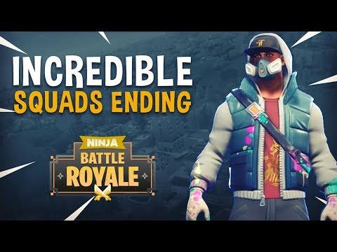 Incredible Squads Ending! (Guardian Con Reminder) - Fortnite Battle Royale Gameplay - Ninja